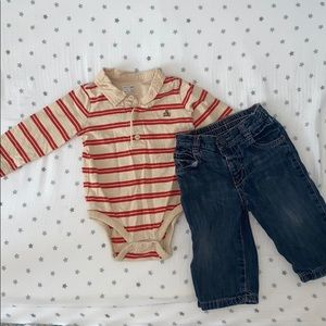 ⛵️4/$25 Baby Gap/Old Navy outfit 6-12 month